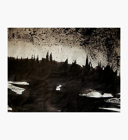 rhine.... dusk town shadows Photographic Print