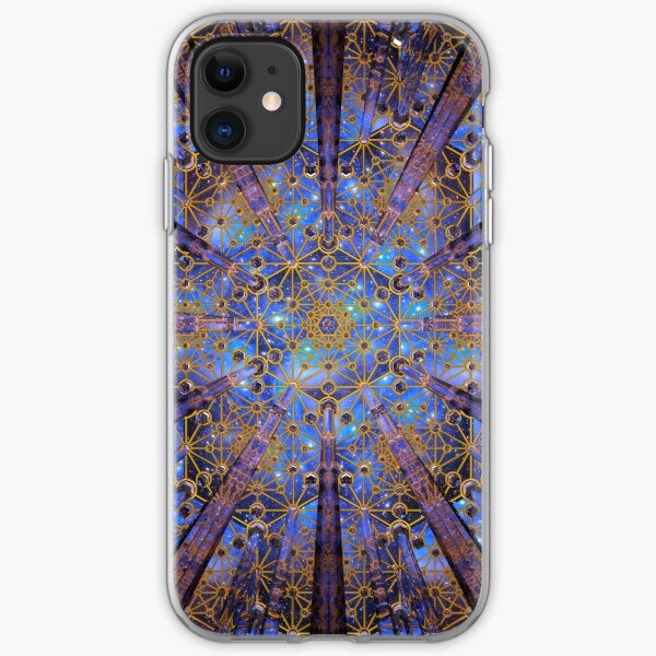 Crystal Generator Grid Healing Room iPhone Soft Case
