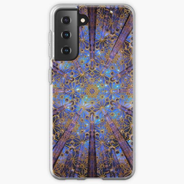 Crystal Generator Grid Healing Room Samsung Galaxy Soft Case