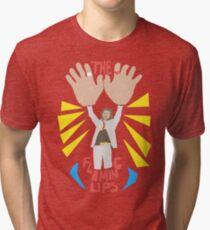 Die flammenden Lippen - große Hände Vintage T-Shirt