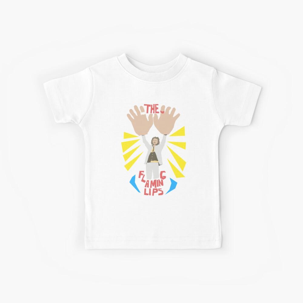 Los labios llameantes - manos grandes Camiseta para niños