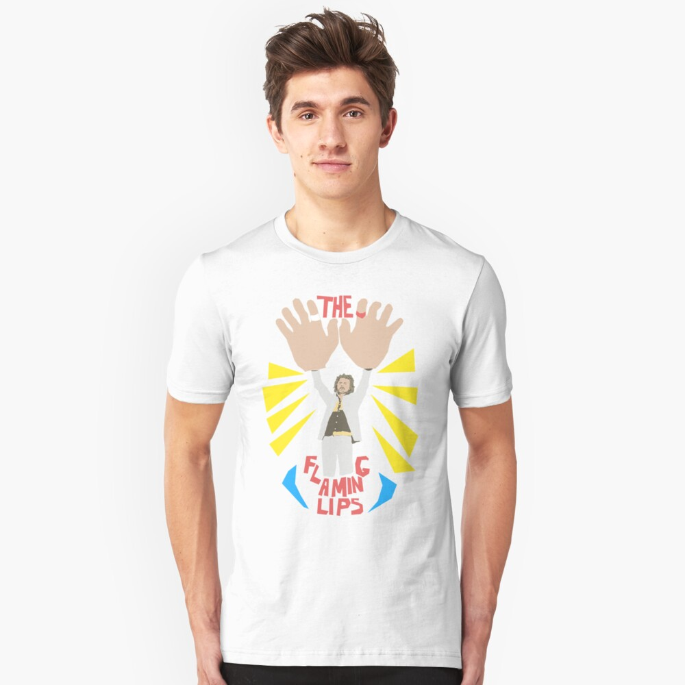 The flaming lips - big hands Slim Fit T-Shirt