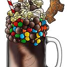 """The Artificer"" Monster Milkshake - Movie Snacks by Kiel Chenier"