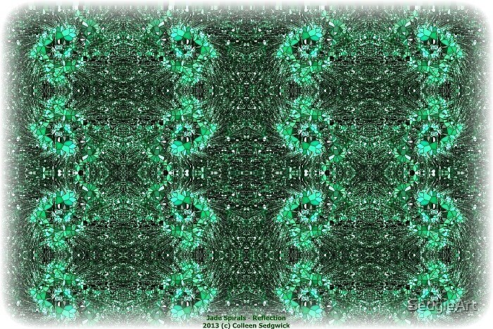 Jade spirals by SedgieArt