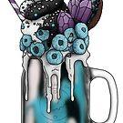 """""""The Mystic"""" Monster Milkshake - Blue Raspberry by Kiel Chenier"""