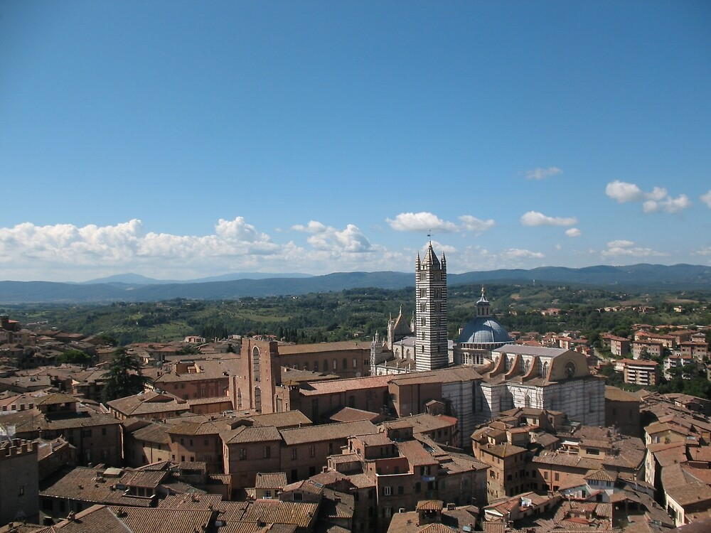 sun and Siena, Italy by chycecca