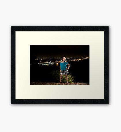 Kristy 18 Framed Print