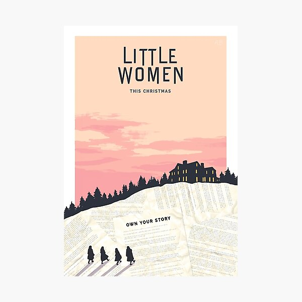 Alternate Little Women Photographic Print