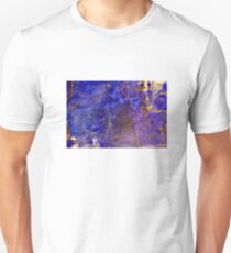 Blue marble - patterned texture background  T-Shirt