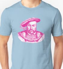 Pink Henry the Eighth VIII Unisex T-Shirt