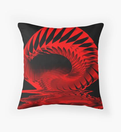 Spiral Spill Throw Pillow