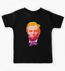 Big psychedelic Abe  Kids Tee