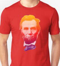 Big psychedelic Abe  Unisex T-Shirt