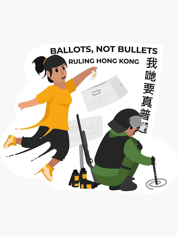 Ballots, not bullets by AlefYodhAlef