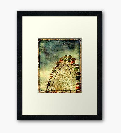 Sky Rides Framed Print