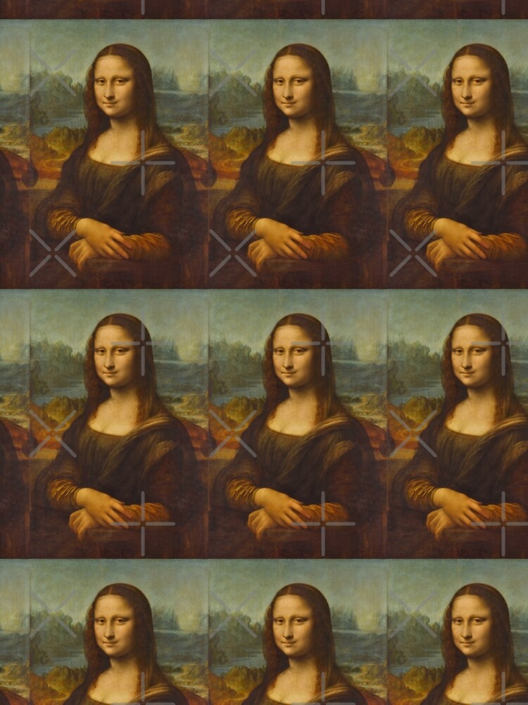 Mona Lisa - Leonardo da Vinci (Louvre) by adaba