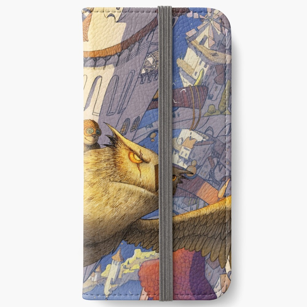 The spiral city iPhone Wallet