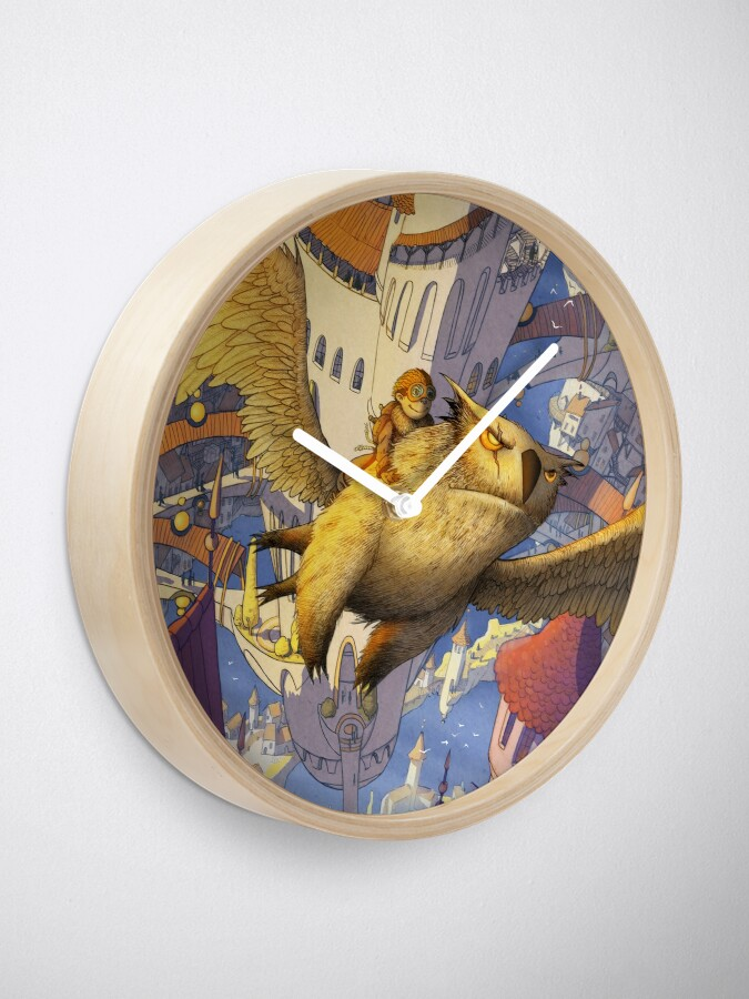 Alternate view of The spiral city Clock