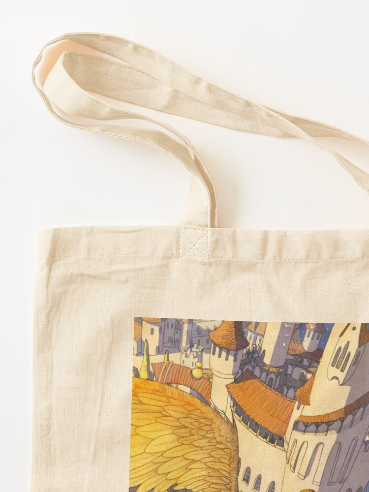 Alternate view of The spiral city Tote Bag