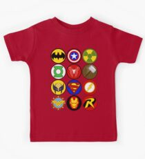 Superhero Symbol Kids Tee