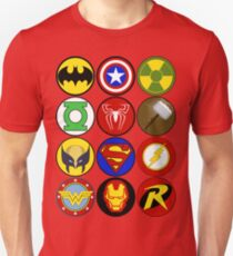 Superhero Symbol T-Shirt