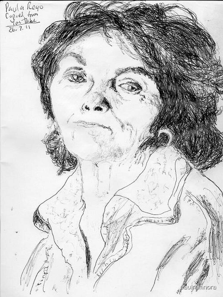 quotpaula rego on youtube 260711 biro penblack ink quot by