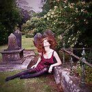 Sukie In The Graveyeard by Suzy Fitzharris