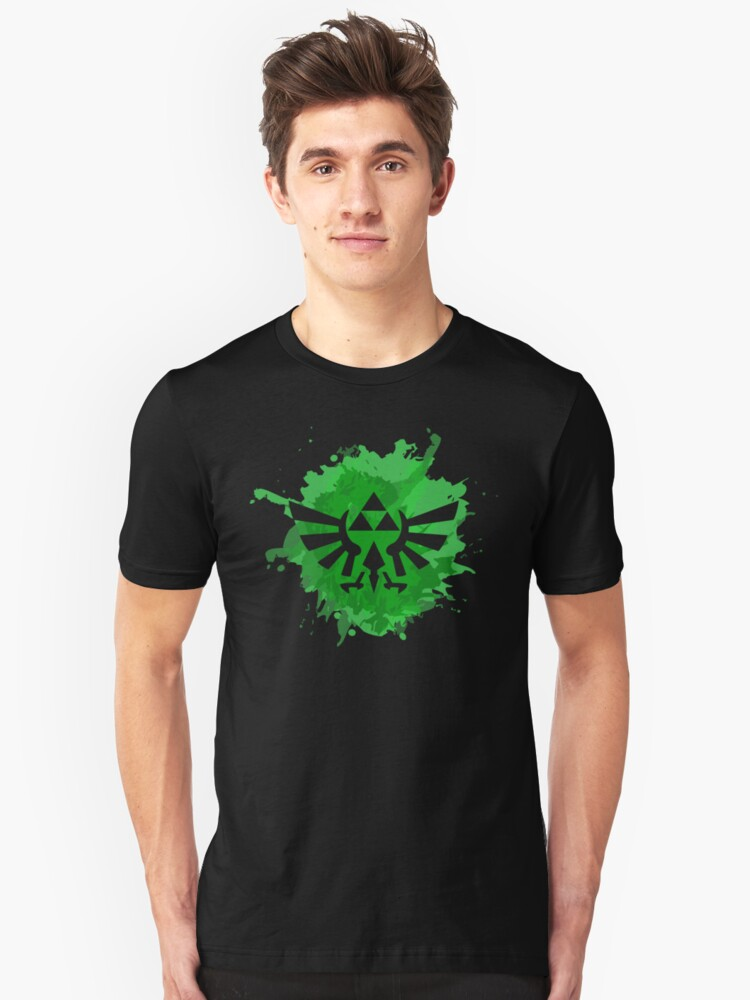 Triforce splash art Unisex T-Shirt Front