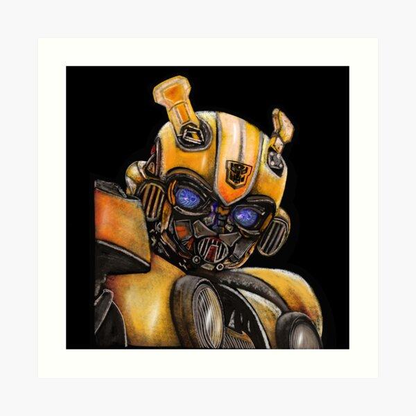 Bumblebee Transformer, The Best Transformer Art Print