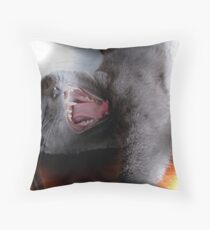 What a Yap! Throw Pillow