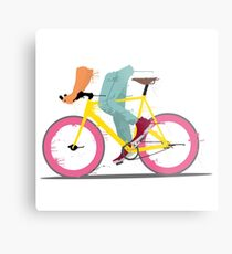fixie bicycle Metal Print