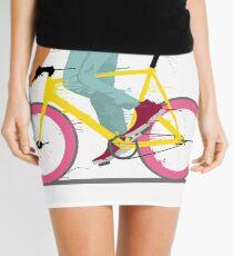 fixie bicycle Mini Skirt