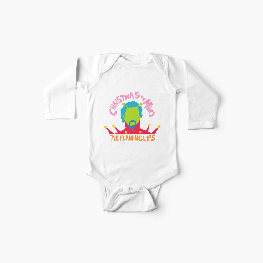 Christmas on Mars - The Flaming Lips Baby One-Piece