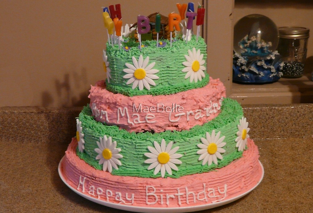 A Whopper Of A Birthday Cake by MaeBelle