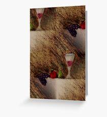 Plaisirs Fruits Greeting Card