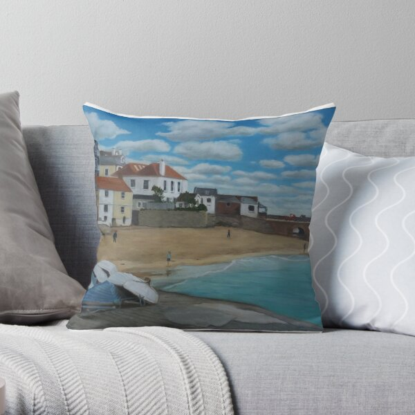 Upturned boats Throw Pillow