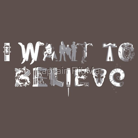 TShirtGifter presents: X-Phile: I WANT TO BELIEVE