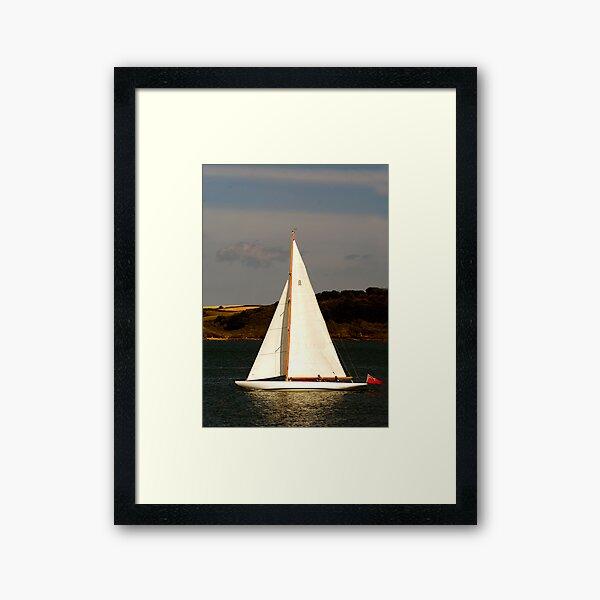 YACHT Framed Art Print
