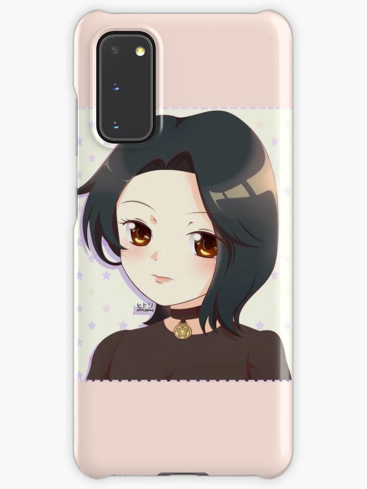 Anime Doomer Girl Star Choker Case Skin For Samsung Galaxy By Ellione Loire Redbubble