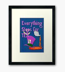 Teatime Framed Print