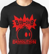 Bob-Omb Demolition red Unisex T-Shirt