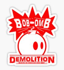 Bob-Omb Demolition red Sticker