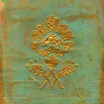 Golden Flower by cesstrelle