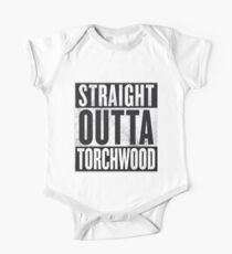 Straight Outta Torchwood Kids Clothes