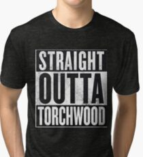 Straight Outta Torchwood Tri-blend T-Shirt