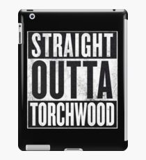 Straight Outta Torchwood iPad Case/Skin
