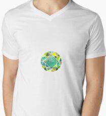 Green watercolor diamond T-Shirt
