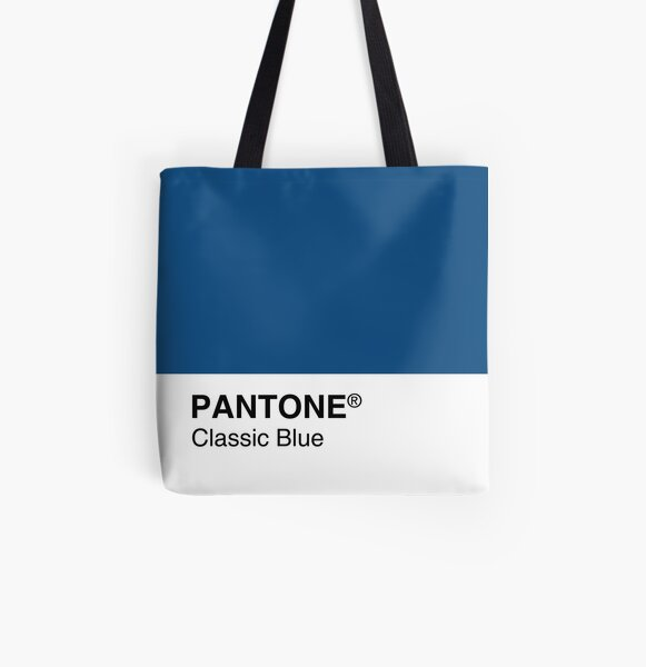 Pantone Classic Blue Color of the year 2020 All Over Print Tote Bag