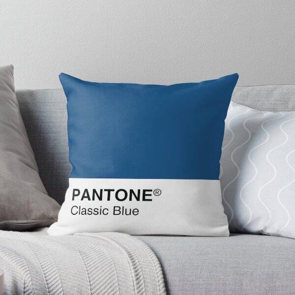 Pantone Classic Blue Color del año 2020 Cojín