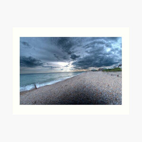 Bracklesham Bay Art Print